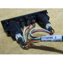 HP 224998-001 в Екатеринбурге, кнопка включения питания HP 224998-001 с кабелем для сервера HP ML370 G4 (Екатеринбург)