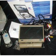 Автомобильный монитор с DVD-плейером и игрой AVIS AVS0916T бежевый (Екатеринбург)